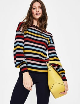 Multi Stripe  Muriel Jumper