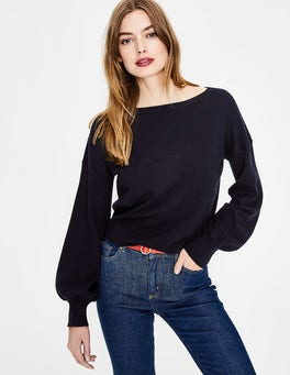 Navy Muriel Sweater