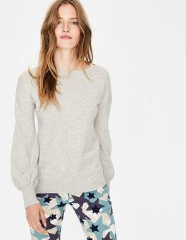 Silver Melange Muriel Sweater