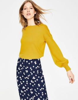 English Mustard Muriel Jumper