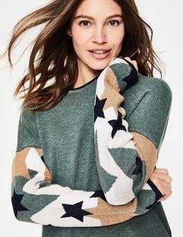 Khaki/Camo Berwick Sweater