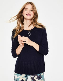 Navy Heidi Jumper