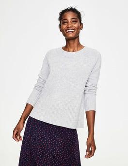 Silver Melange Heidi Sweater