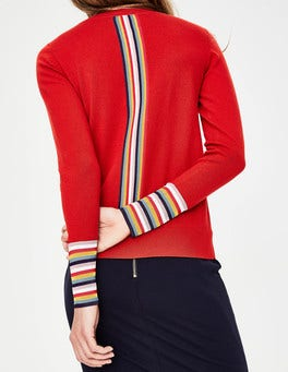 Post Box Red Cassandra Cardigan