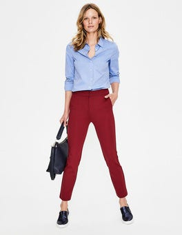Wine Hampshire 7/8 Trousers