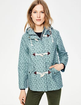 Heritage Blue, Scattered Stars Whitby Waterproof Jacket