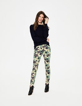 Green, Camouflage Star Soho Skinny Jeans