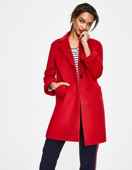 Post Box Red Holywell Coat