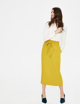 Hot Mustard Melina Paperbag Skirt