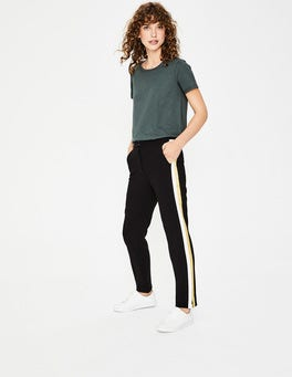 Black Bristol 7/8th Pants