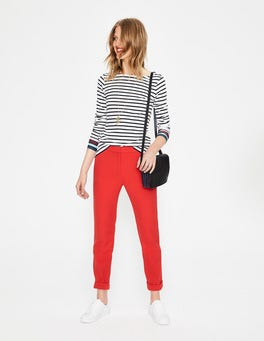 Post Box Red Mayford Trousers