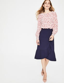 Navy Ella Skirt