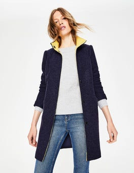 Navy Hengrave Coat
