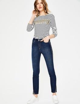 Rinse Indigo with Gold Edinburgh Jeans