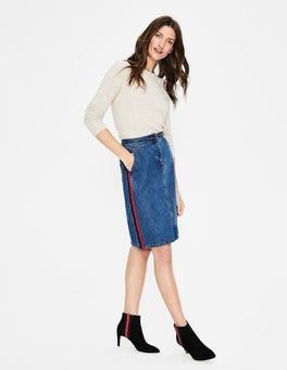 Mid Vintage Penny Denim Skirt