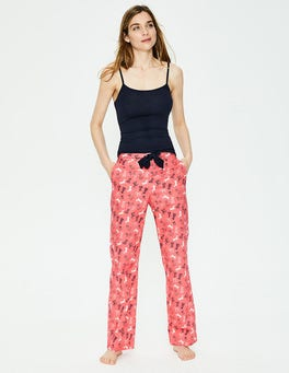 Coral Sunset, Doodle Dog Small Suzie PJ Trousers