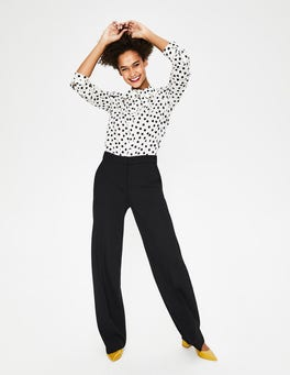 Black Hampshire Ponte Pants