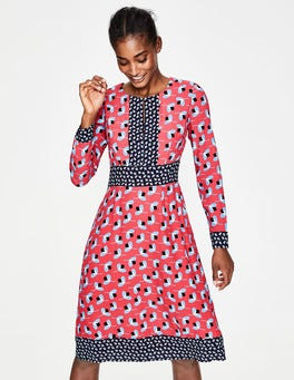Pop Peony Clover Geo Daisy Dress