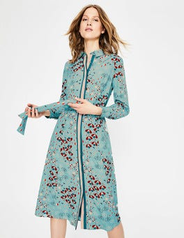 Heritage Blue Meadow Pippa Shirt Dress