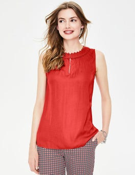 Post Box Red Gabriella Top