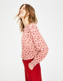 Milkshake, Blossom Small Sadie Silk Top