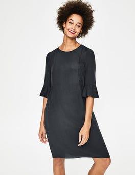 Navy Hyacinth Dress