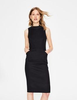 Black Seam Detail Martha Dress