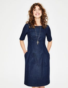 Bright Blue Alice Denim Dress