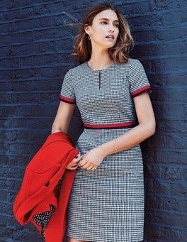 Adelaide Tweed-Kleid