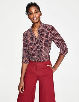 Conker, Spotty Trellis Small Silk Shirt