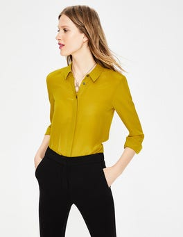 Hot Mustard (BN604) The Silk Shirt