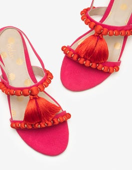 Carnival Pink Carin Sandals