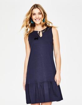 Navy Arabella Jerseykleid