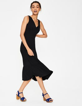 Black Nicole Jersey Dress