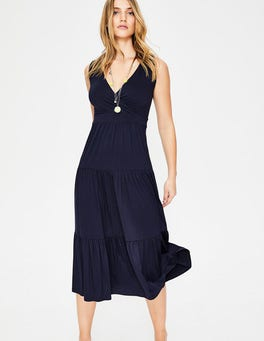 Navy Nicole Jersey Dress