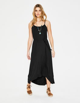 Black Jemma Jersey Dress