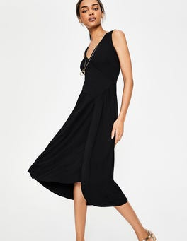 Black Jennifer Jersey Dress