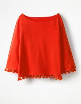 Blood Orange Genevieve Sweater