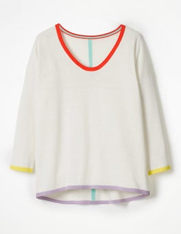 Ivory Angeline Sweater