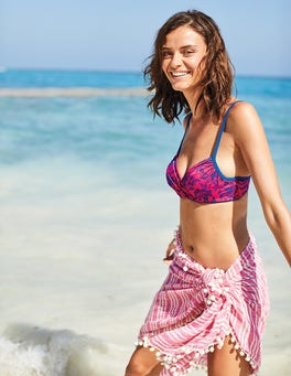 Haut de bikini Alacati à bonnets