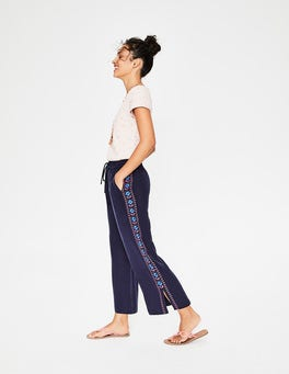Navy Alicia Trousers
