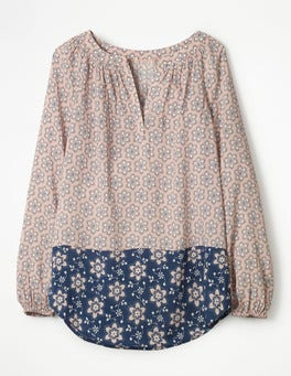 Pink Frosting, Dotty Floral Maya Top