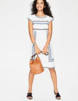 Ivory Dora Embroidered Dress