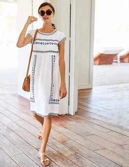 Dora Embroidered Dress