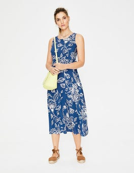 Lupine Blue Wild Floral Millie Dress