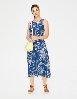 Bleu outremer Fleurs Sauvages Robe Millie