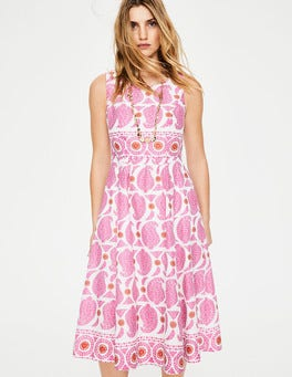 Party Pink Duo Paisley Lizzie Dress