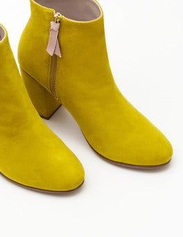Hot Mustard Etta Ankle Boots
