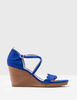 Klein Blue Bethany Wedges