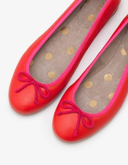 Red Pop Ballerinas